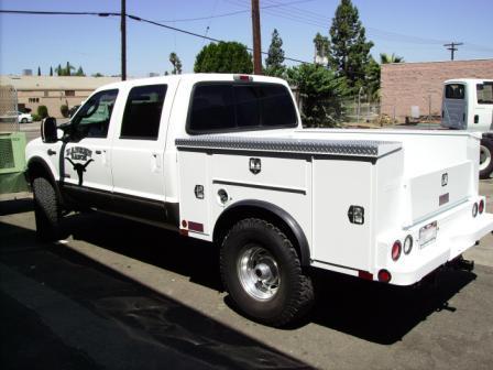 Abacor Inc Truck Body El Cajon Ca San Diego Utility
